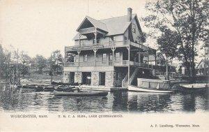 WORCESTER, Massachusetts, 1901-07; Y.M.C.A. Bldg., Lake Quinsigamond, TUCK 1037