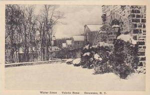 New York Oscawana Winter Scene Valeria Home Albertype