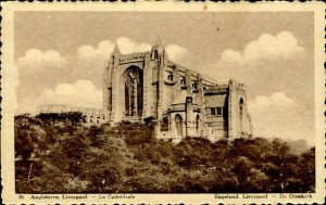 CE1069 england liverpool cathedral chocolat martougin anders advertising ca 1925