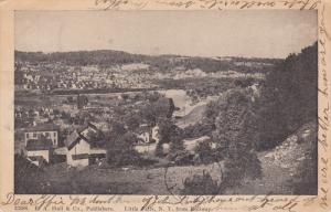 LITTLE FALLS, New York, PU-1908; View From Rollway