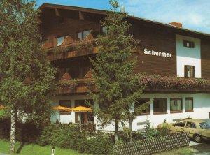 Hotel Schermer Landstrabe Vienna Austria Postcard