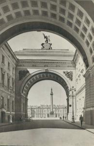 Russia - Leningrad Dvortsovaya Square 02.06