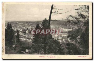 Old Postcard Epinal General view