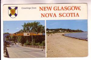 Greetings, Nova Scotia Shield, Twoview, Welcome, Beach, New Glasgow, Book Room
