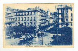 La Place Bugeaud Et La Rue d'Isly, Algiers, Algeria, Africa, 1900-10s