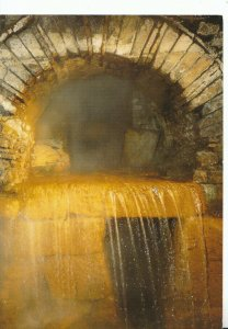 Somerset Postcard - Roman Baths, Bath - Overflow from The Hot Spring  Ref 18494A