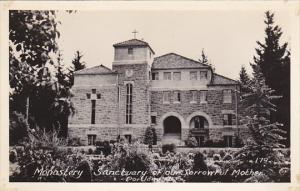 Oregon Portland Monastery Sanctuary Of Our Sorrowful Mother Real Photo