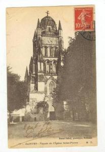 Exterior / Facade de l'Eglise Saint Pierre,France 1919 PU