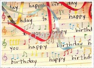 Modern Postcard Happy birthday