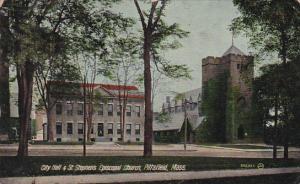 City Hall & St. Stephen's Episcopal Church, Pittsfield, Massachusetts, 00-10s