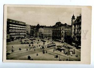 131669 Czech BRNO Namesti Svobody Vintage photo postcard