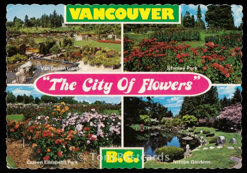 Vancouver - The city of flowers
