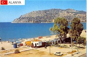 Turkey Alanya Auto Car Beach Promenade General view