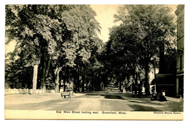 MA - Greenfield. East Main Street