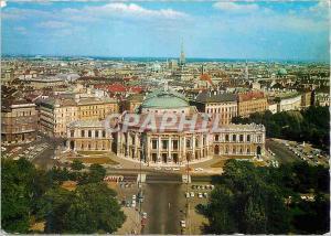 Postcard Modern Vienna The Burgtheatre