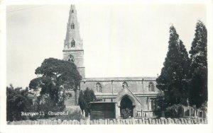Postcard UK England Barnwell, Northamptonshire church