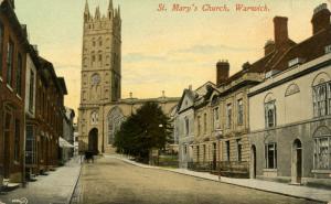 UK - England, Warwick. St Mary's Church