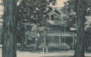 CHAUTAUQUA, New York, 1900-10s; Jennie C. Benedict Memorial Scholarship House