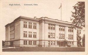 High School Conneaut Ohio 1915c postcard