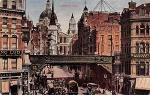 London, Ludgate Hill, Animated, Machinery Market, Commerce