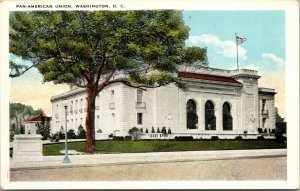 Vtg 1920s Pan-American Union Washington DC Unused Postcard