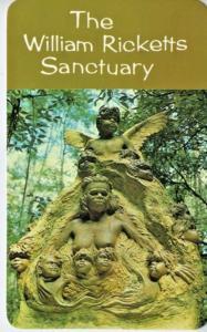 The William Ricketts Sanctuary at Mt. Dandenong Australia Postcard