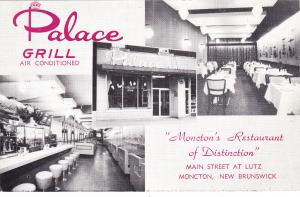 MONCTON , New Brunswick, Canada, 1930s-50s; Palace Grill Restaurant