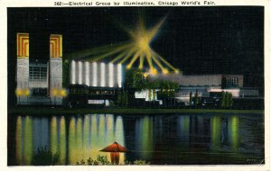 IL - Chicago. 1933 World's Fair, Century of Progress. Electrical Group by Ill...