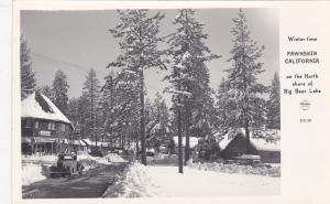 RP: FAWNSKIN , California , 30-40s ; Main Street in Winter , FRASHERS F4108