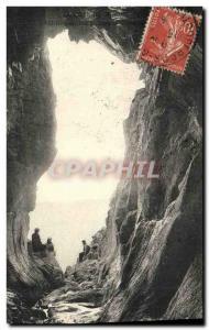 Old Postcard Perros Guirec Cave