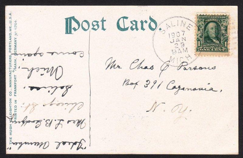 MI - Calumet - Tamarack Mine - 1907 - Saline, MI