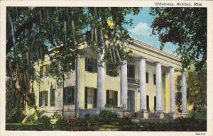 Mississippi Natchez D'Evereux Curteich