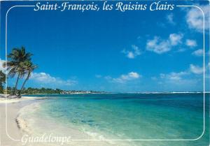 Guadeloupe Saint Francois les Raisins Clairs