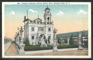 New Jersey, Atlantic City - Young's Cottage - Million Dollar Pier - [NJ-118]