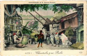 Acte I-Chantecler & ses Poules CPA ARTISTE THEATRE STAR (319281)