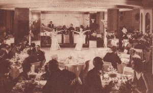 CHICAGO, Illinois, 1900-1910s; The Stevens, Continental Room