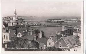 Guernsey; General View & Harbours RP PPC, Unposted, By Photochrom