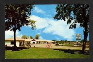 NC Lakeside Motel CREEDMOOR NORTH CAROLINA Postcard PC