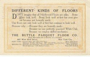 NEW YORK CITY , N.Y. , 1910 ; Buttle Parquet Floor Co.