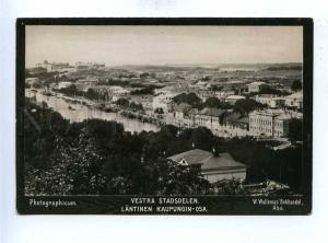192789 FINLAND ABO Vestra neighborhood Vintage photo postcard