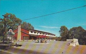 Canada New Brunswick St Stephen Wandlyn Motel &amp  Fina Gas Station