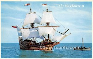 The Mayflower II - Plymouth, Massachusetts MA