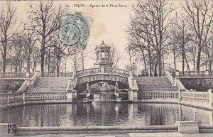 France Dijon Square de la Place Darcy 1905