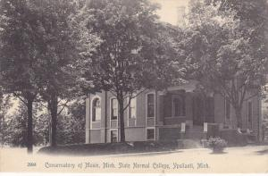 Conservatory of Music , Michigan State Normal College , YPSILANTI , Michigan ...