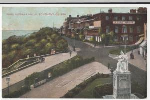 Essex; Queen Victoria' s Statue, Southend On SeaPPC, Unposted, Shows Royal Hotel
