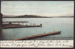 Lake Winnepesaukee,NH,From Depot Platform