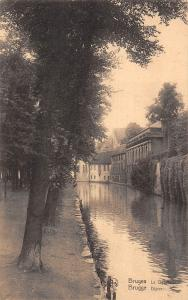 Belgium Bruges Le Dyver Brugge Dijver River