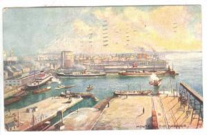 The Harbor , Montreal , Quebec , Canada , PU-1910