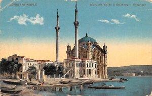 Mosquee Valide a Ortakeuy Bosphore Constantinople Turkey Unused