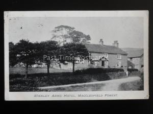 Cheshire MACCLESFIELD FOREST Stanley Arms Hotel c1913 Postcard